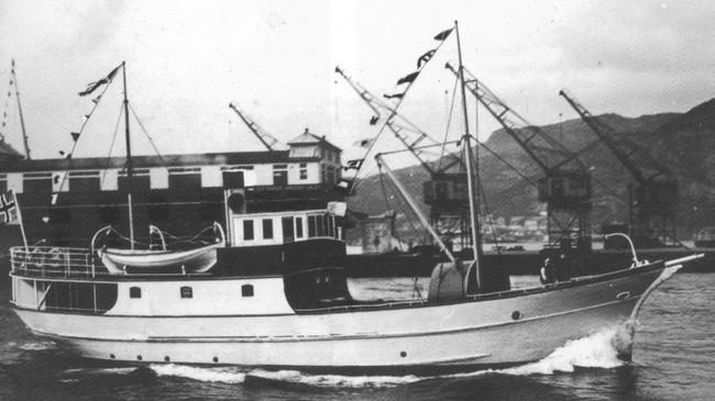 MS Dalsfjord. Foto utlånt av Bjørn Valvik.