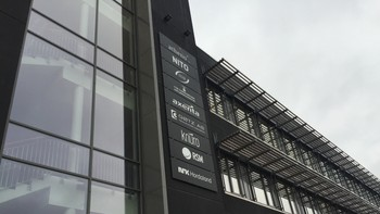 NRK har kontor i kunnskapshuset i Sæ, like utenfor Leirvik sentrum på Stord