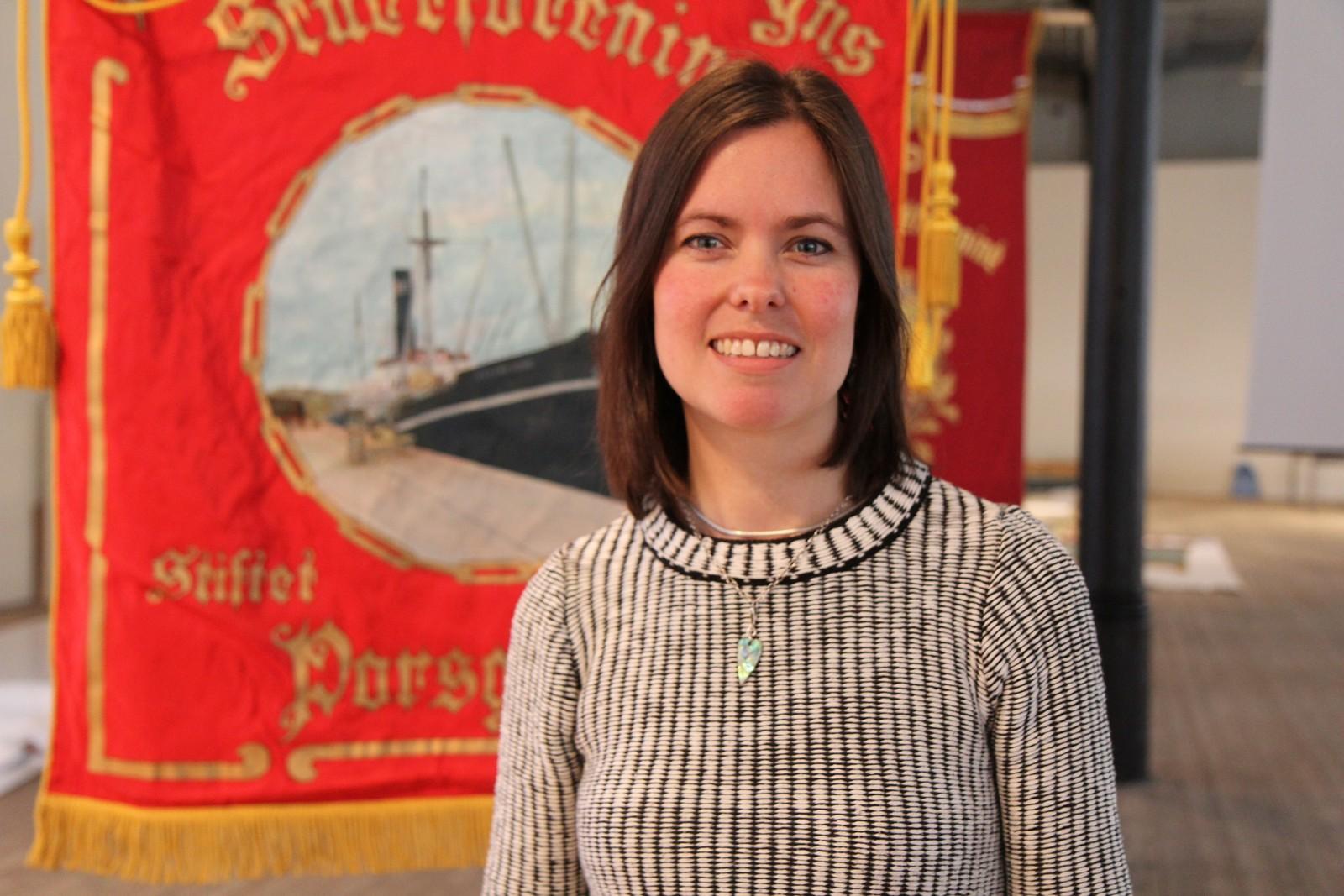 Helene Brekke er daglig leder for Telemarksgalleriet.