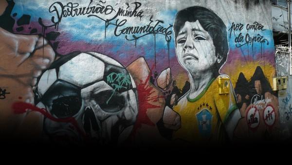 Da stadion ble bygget var Brasil sikre på å vinne