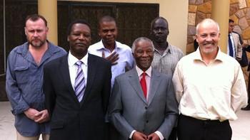 John Sörbö, Thabo Mbeki og Piere Buyoya