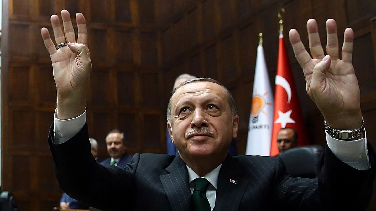 Erdogan: Vi har full kontroll over Afrin sentrum