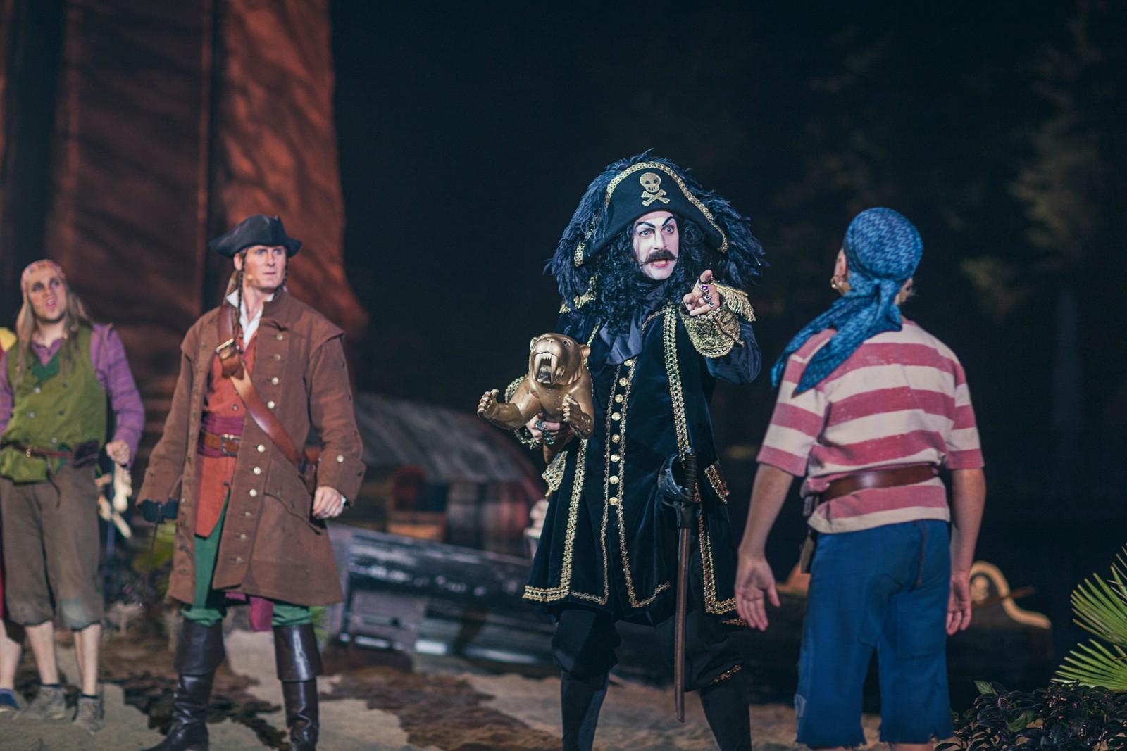 DÅRLIG LEDER: Kaptein Sabeltann fremstår som en grådig kosebamse av en kaptein som lar andre gjøre jobben for seg.