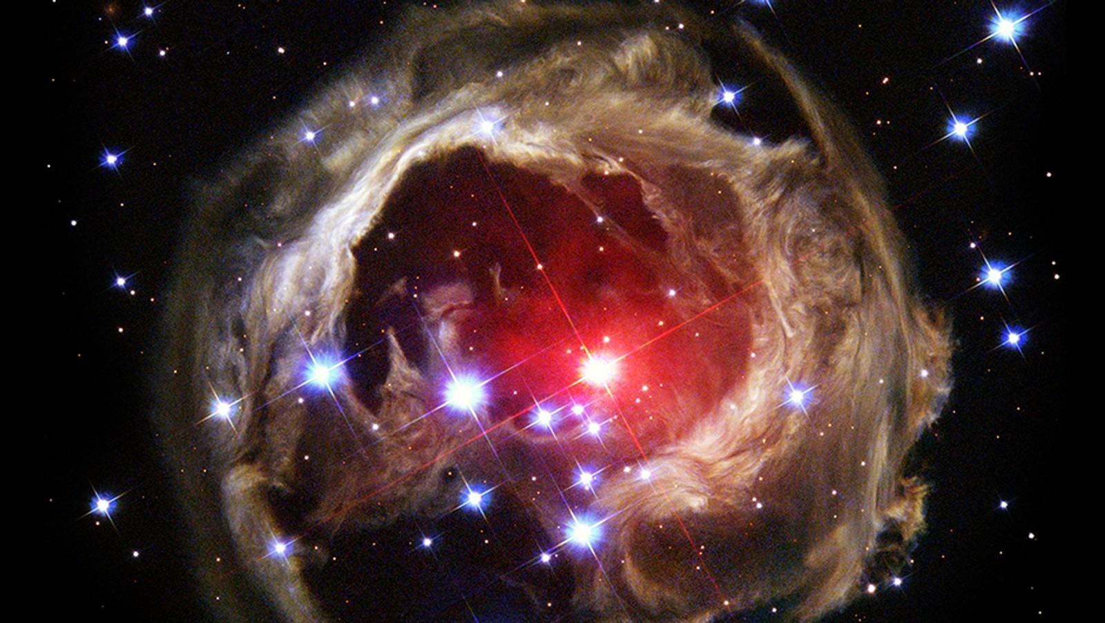 V838 Monocerotis.