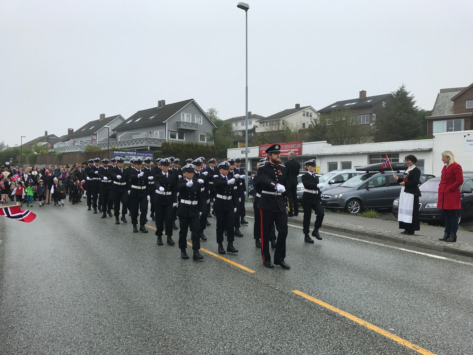 KNM Harald Hårfagre på Madla i Stavanger.