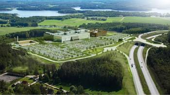Skisse av det nye Sykehuset Østfold