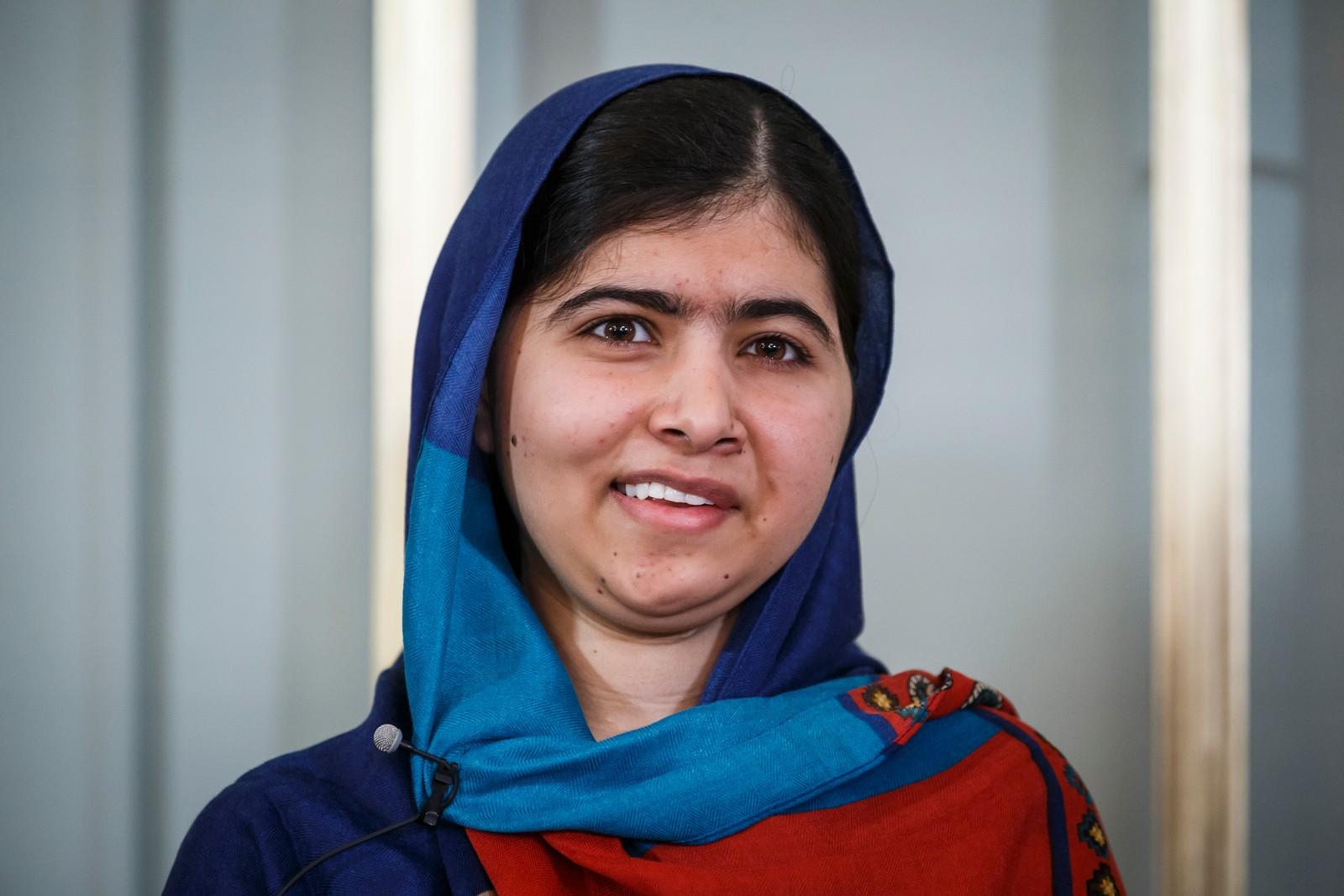 9. DESEMBER: Fredsprisvinnerne Kailash Satyarthi og Malala Yousafzai holdt en pressekonferanse på Nobel Instituttet tirsdag. Malala sa blant annet at fredsprisen har gjort henne sterkere.
