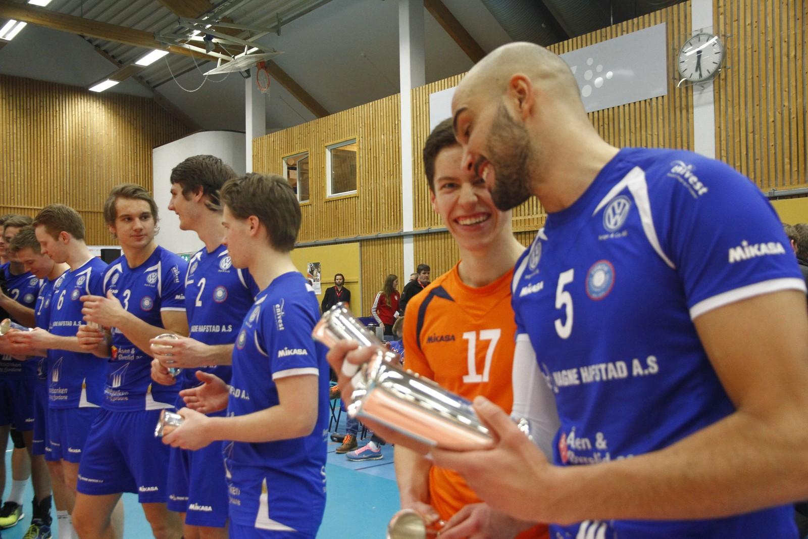 ENDELEG: Mathias Loftesnes lukkast i sin fjerde cupfinale.