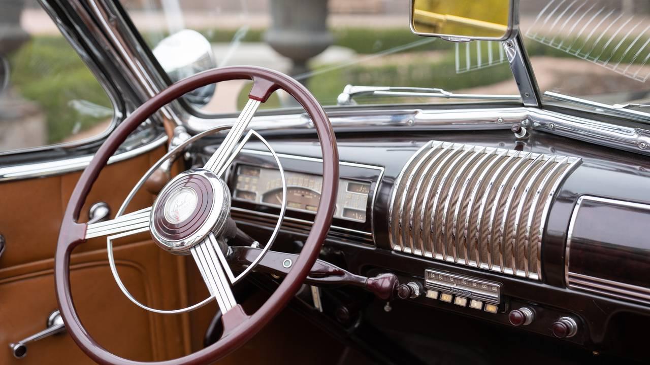 Rattet på innsiden av kongebilen A-1