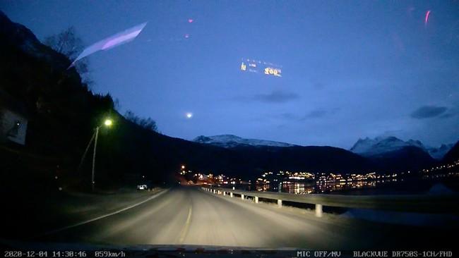 Meteor, Narvik, meteoritt, verdensrommet