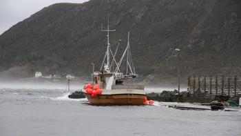 Storm i Vågsøy.