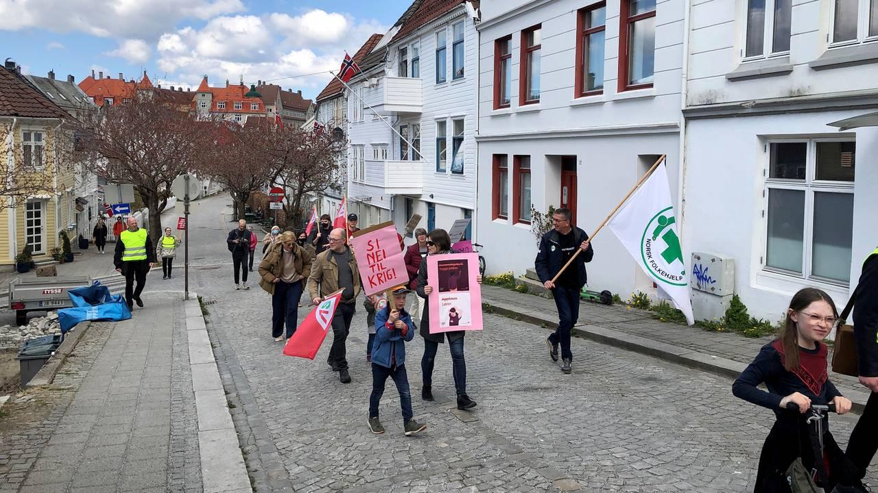 1. mai i Bergen