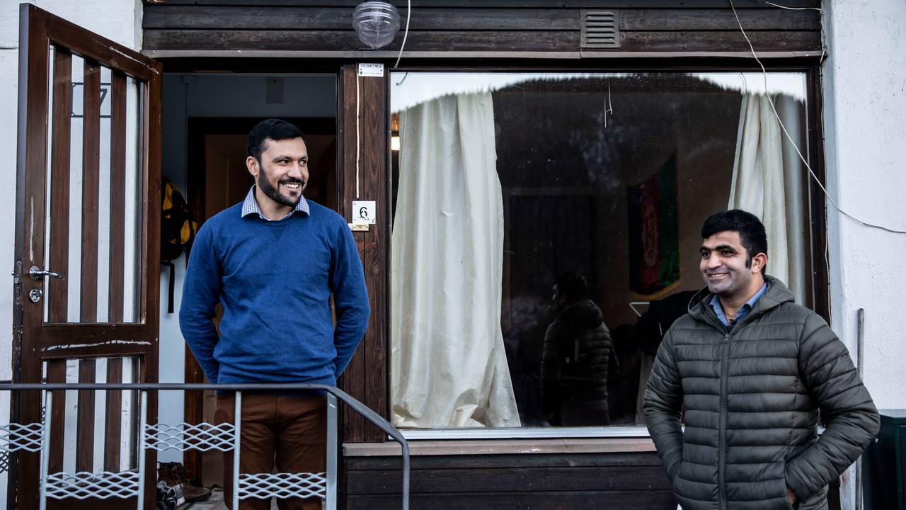 Sifatullah Khogiani og Ismael Alokozai er like gamle, og kjem båe frå Afghanistan. På Rødberg vart dei både naboar og kompisar.