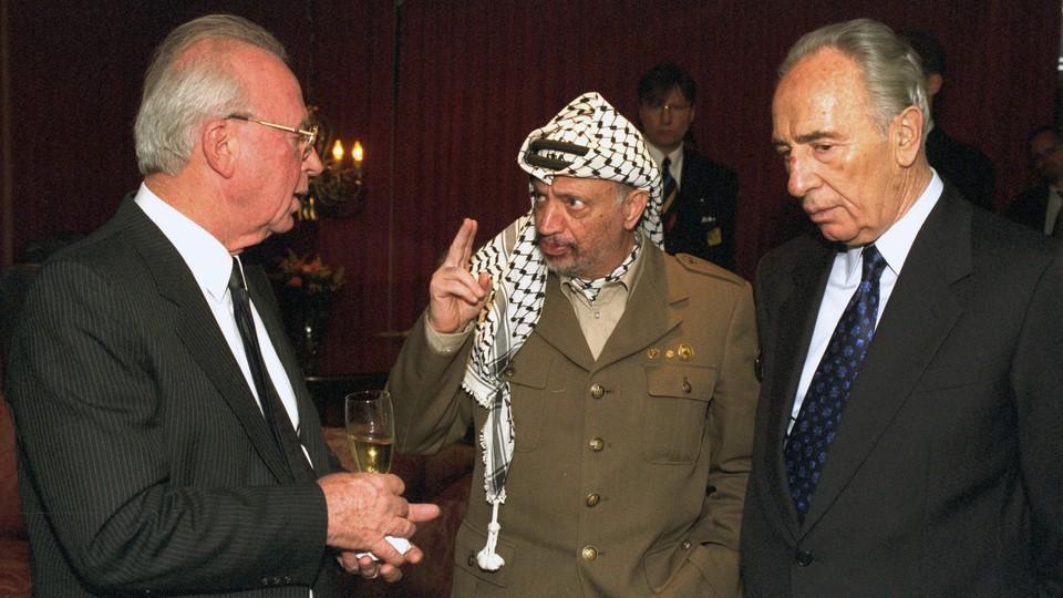 Oslo-avtalen bak dørene