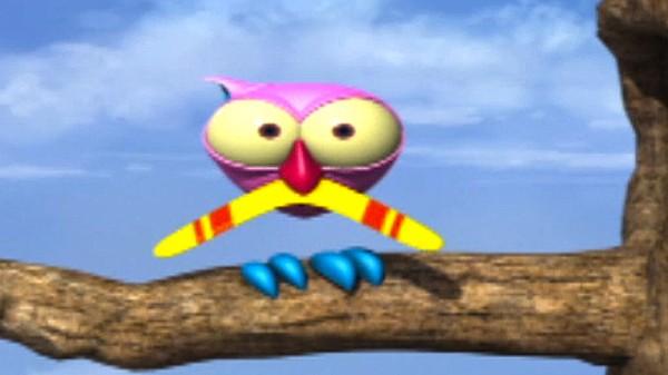 Fransk animasjonsserie. I en skog full av småfrekke hakkespetter, skrytende og sadistiske ildfluer er det ikke lett for en liten, rosa ugle å holde det gående! Det er ikke noe å le av, for det er ganske slemt!