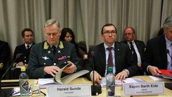 Harald Sunde og Espen Barth Eide