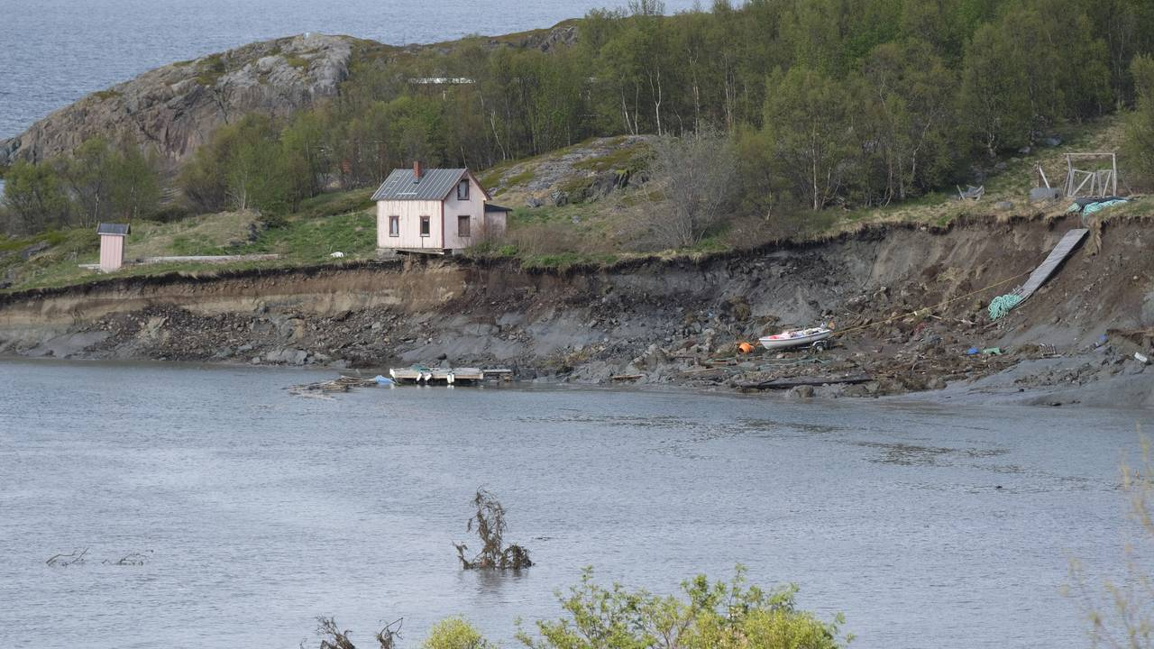 Jordskred Alta, Talvik.