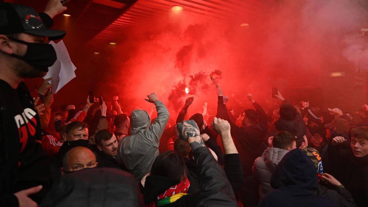 Protester i Manchester, 9