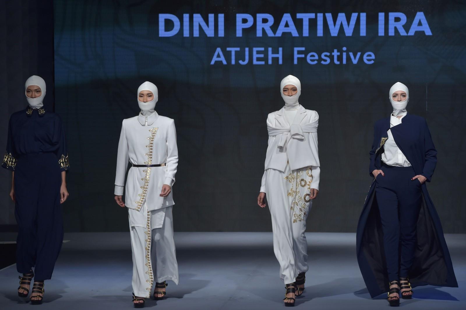 I forkant av Ramadan ble det denne uka arrangert Muslim Fashion Festival i Jakarta, Indonesia.