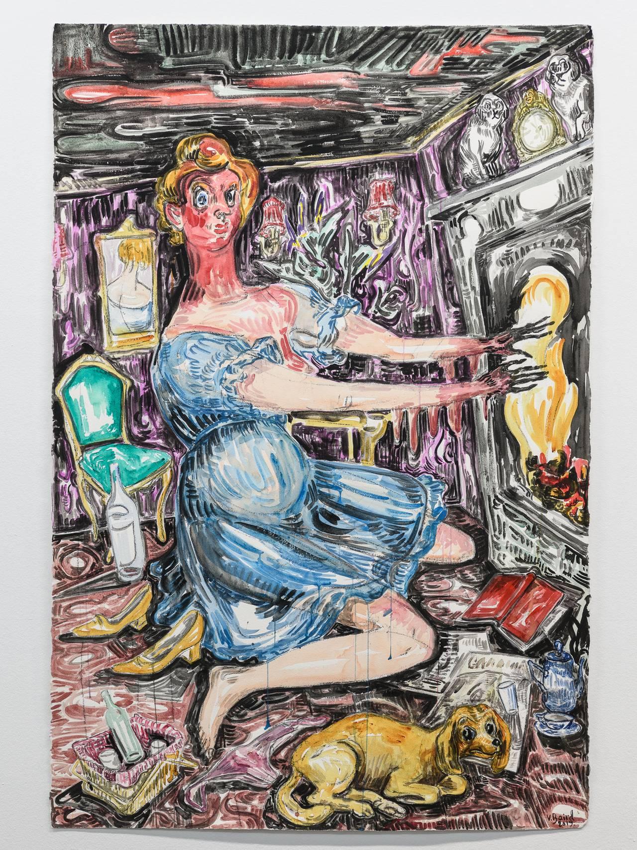 Fra Vanessa Baird-utstillingen på Kunsthall Stavanger.