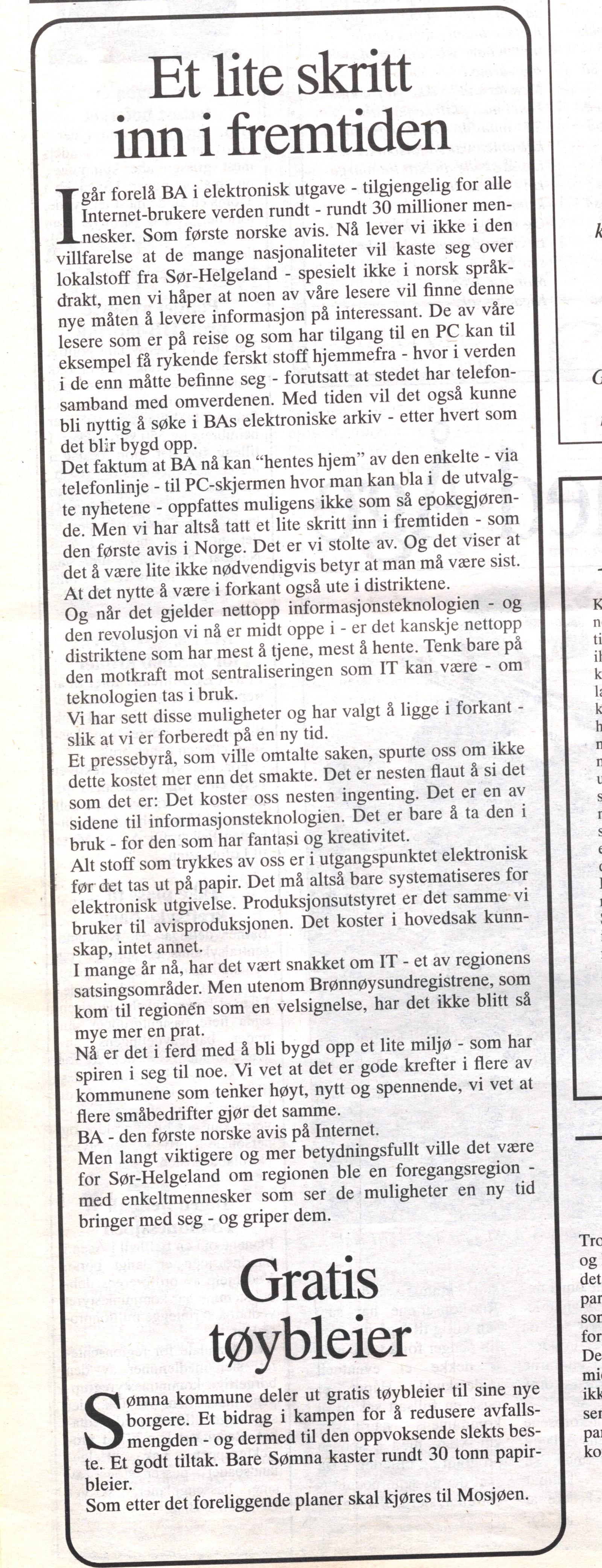 Leder Petter Stephan Krokaa om lanseringen.