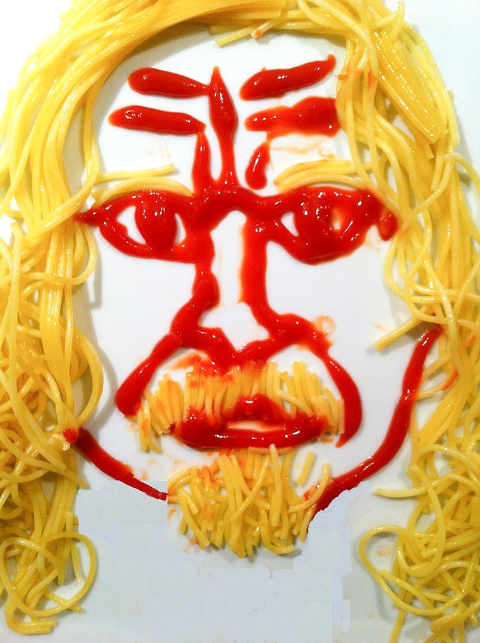 Spaghetti m/tomatknaus