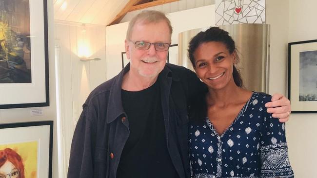 Klaus Hagerup og Lisa Aisato