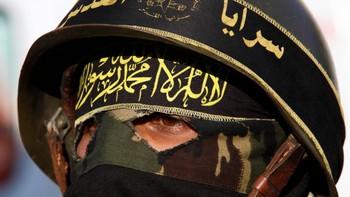 Et medlem av islamsk hellig krig - Jihad