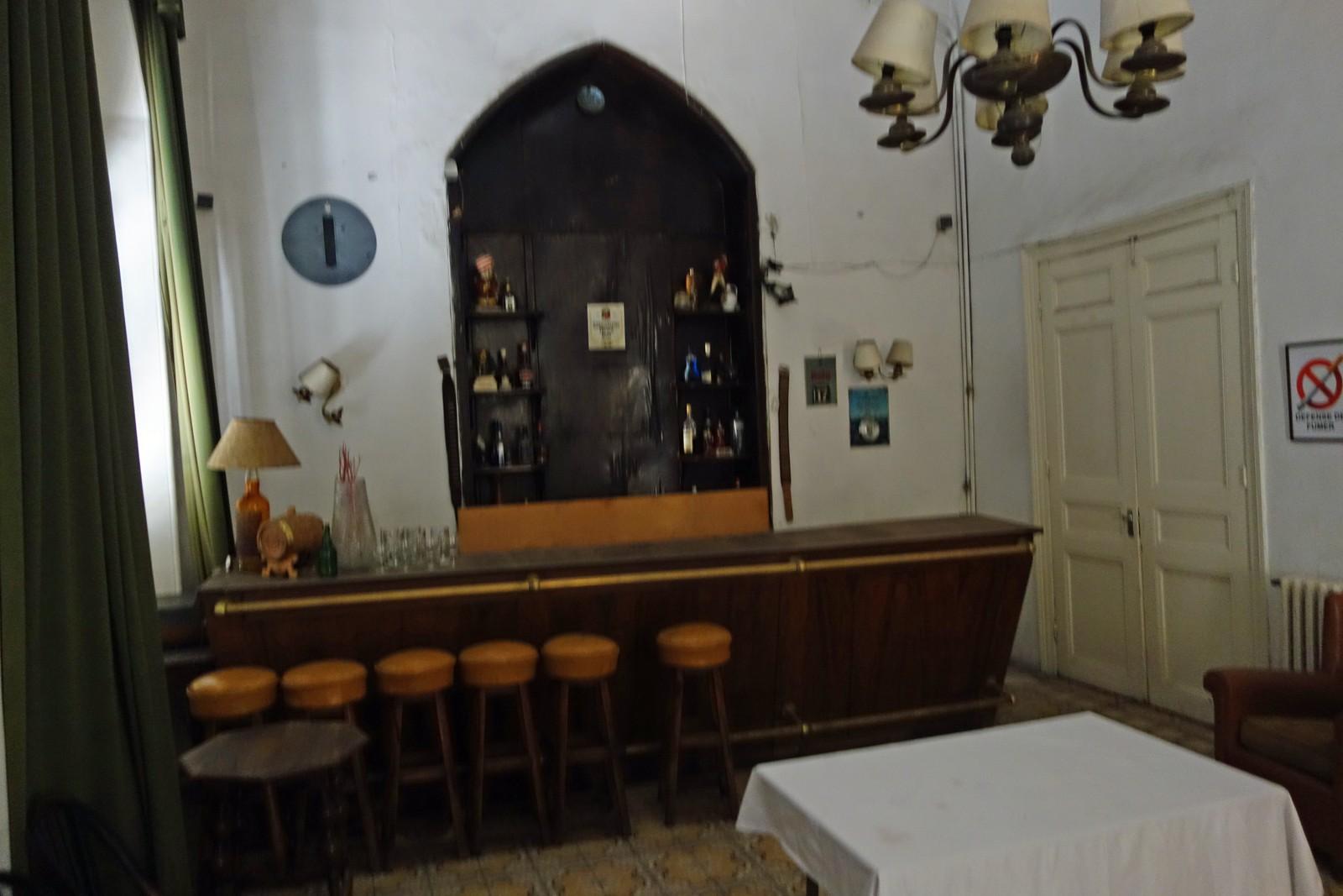 I denne baren satt kanskje T.E Lawrence, Charles Linberg eller Agatha Christie en gang i tiden.