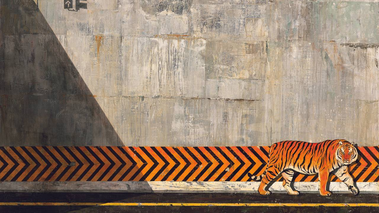 Shaun Tan, Fortellinger fra indre by - Tigeren