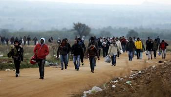 Flyktninger i Makedonia