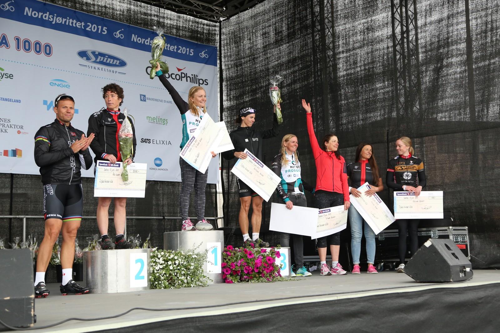 Emilie Moberg fra Team Hitec Products vant Eliteklassen. Hun ble nummer to totalt bak junior Susanne Andersen.