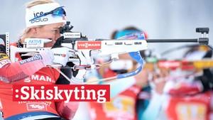 V-cup skiskyting: Jaktstart, kvinner