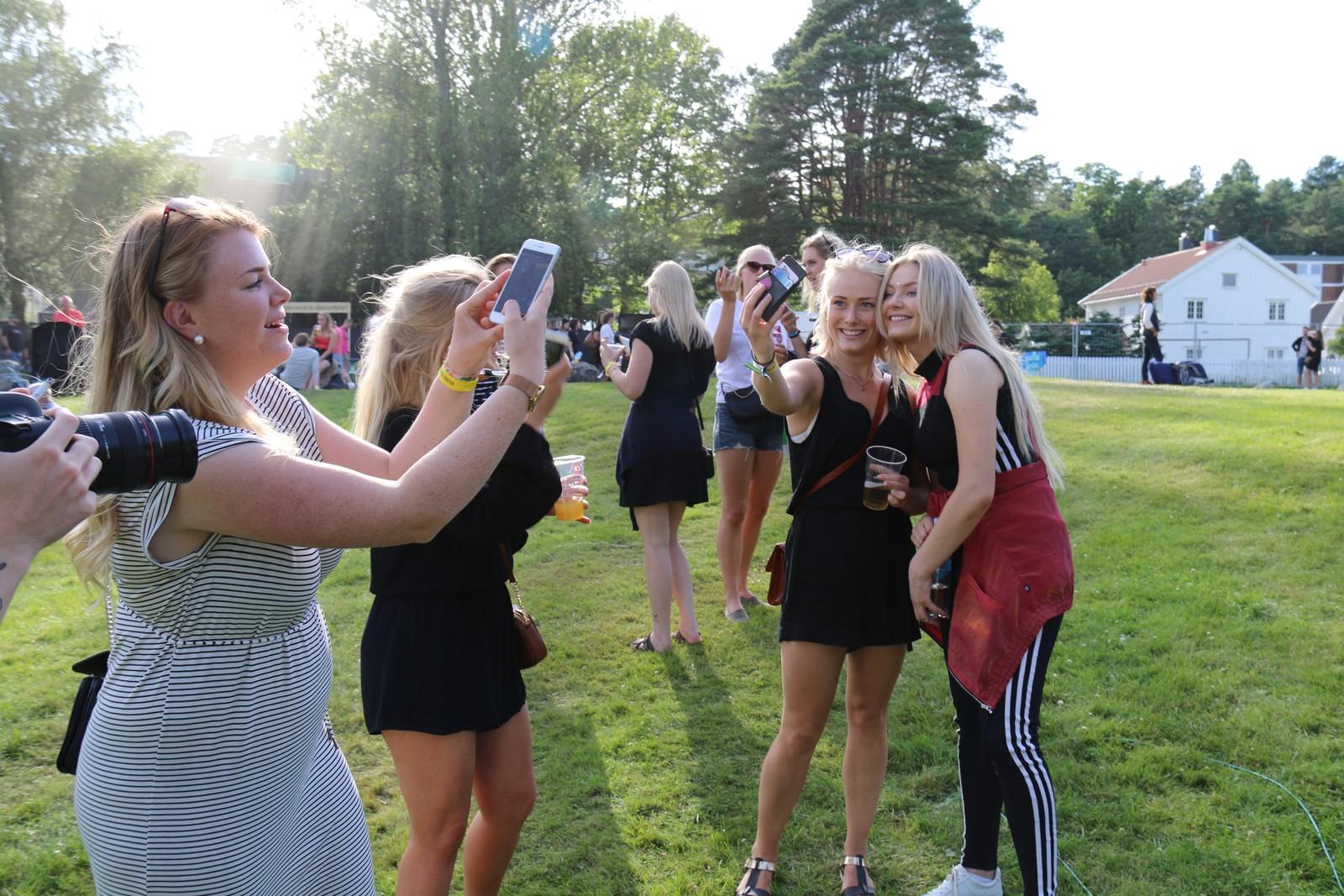 Astrid Smeplass er populær blant festivaldeltakerne.