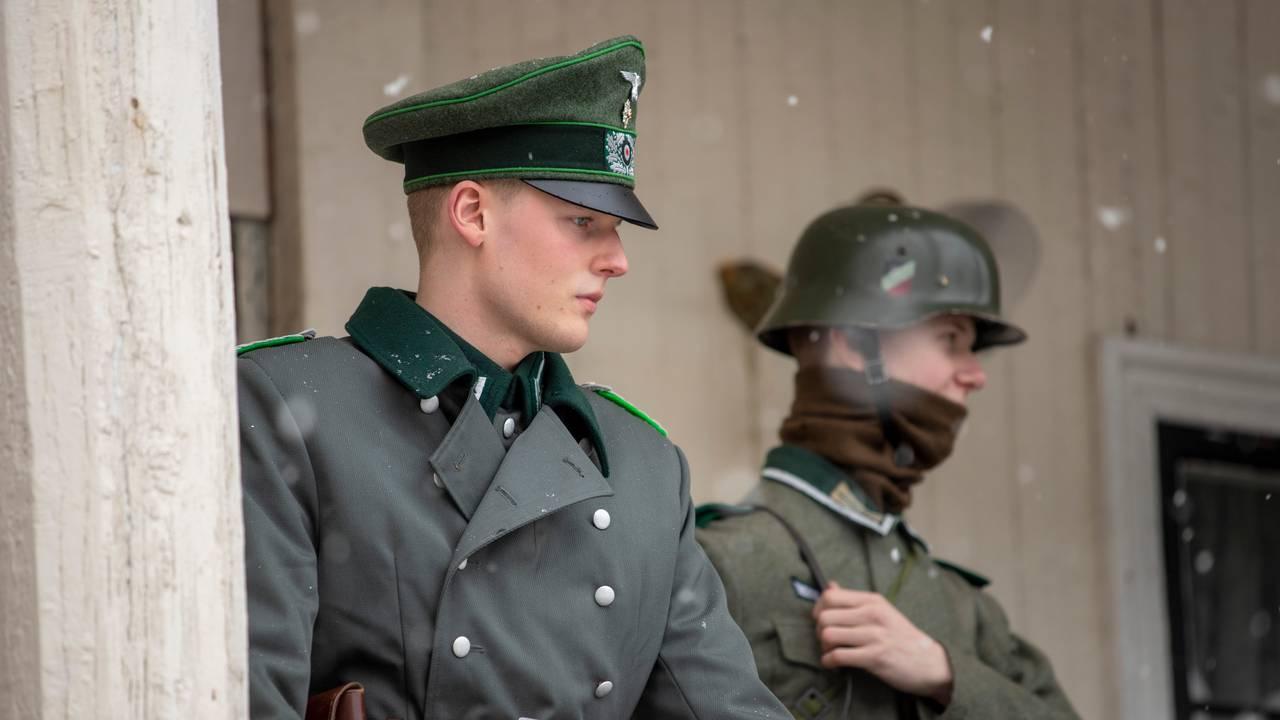 Filminnspilling av «Kampen om Narvik, Hitlers første nederlag» i Drammen