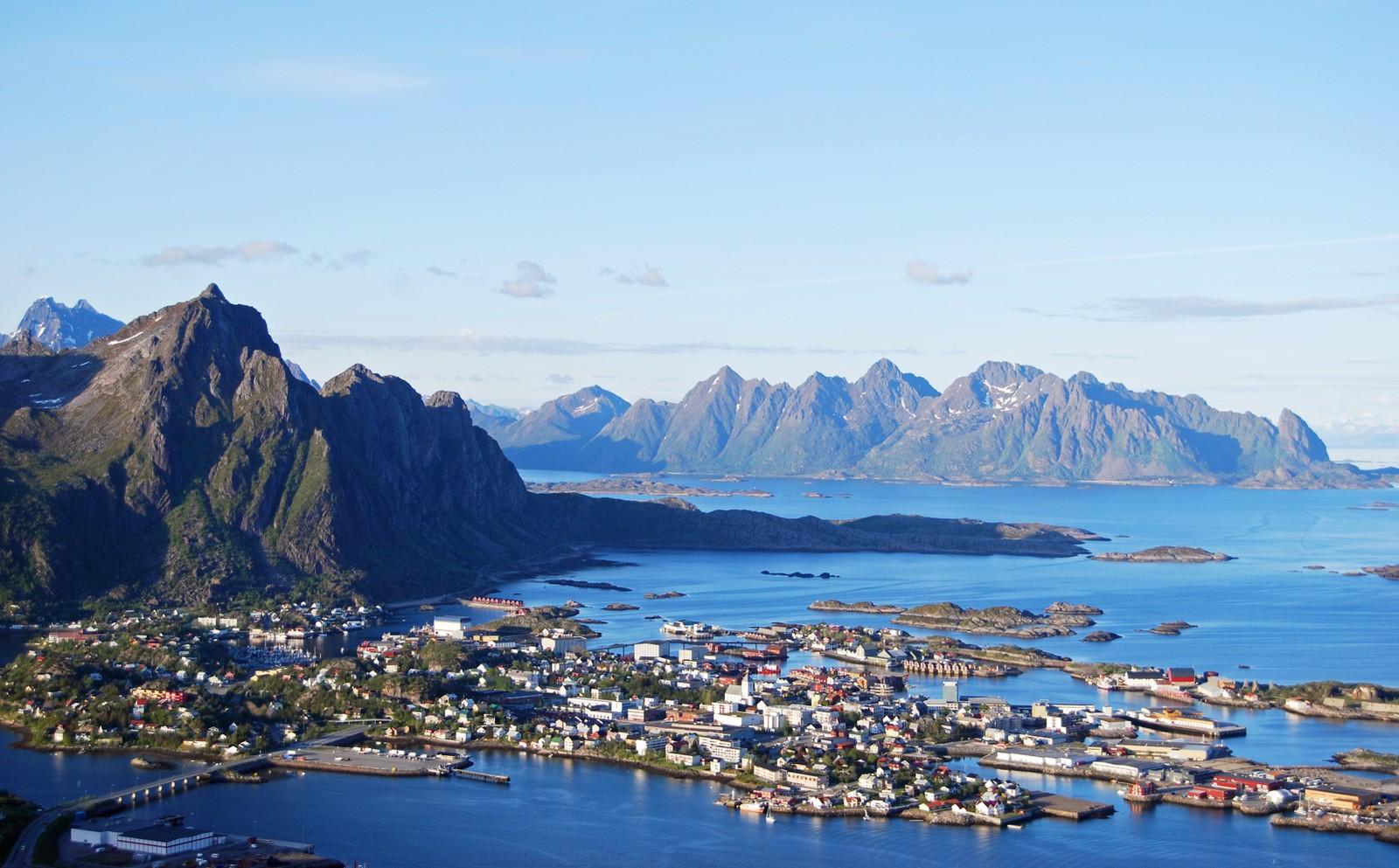 Svolvær havner på 10. plass.