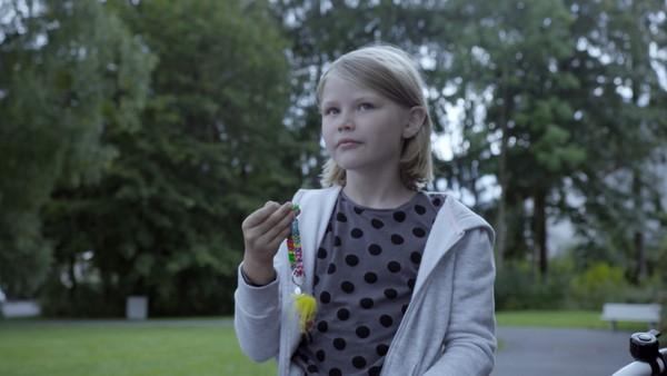 Har noen stjålet sykkelnøklene til Ella?