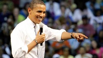 Barack Obama under et valgarrangement