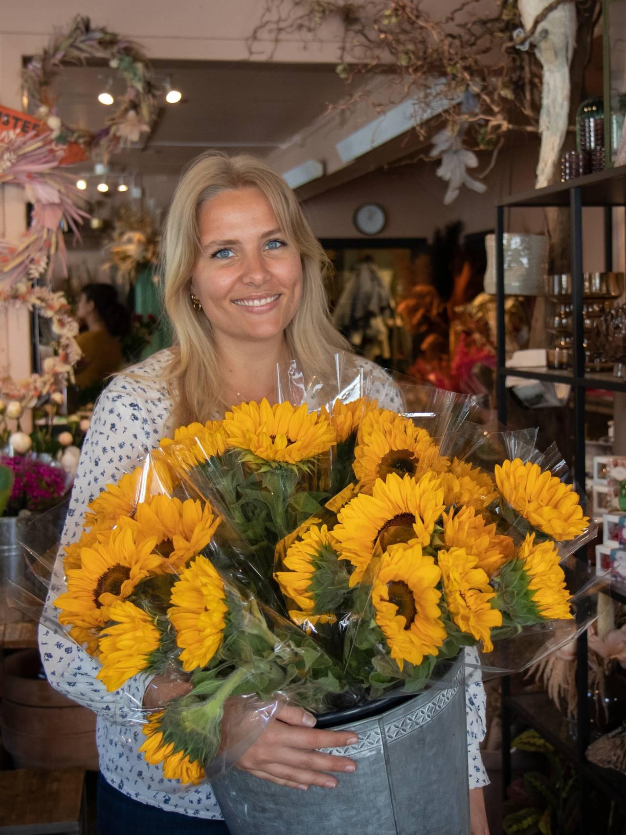 Marianne Kotte-Eriksen, solsikker