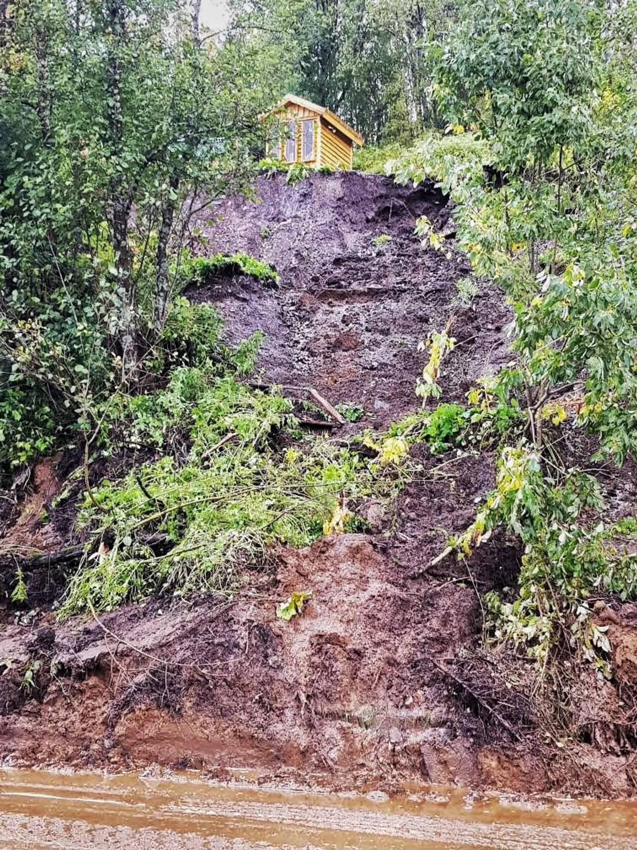 Jordraset i Ramfjord