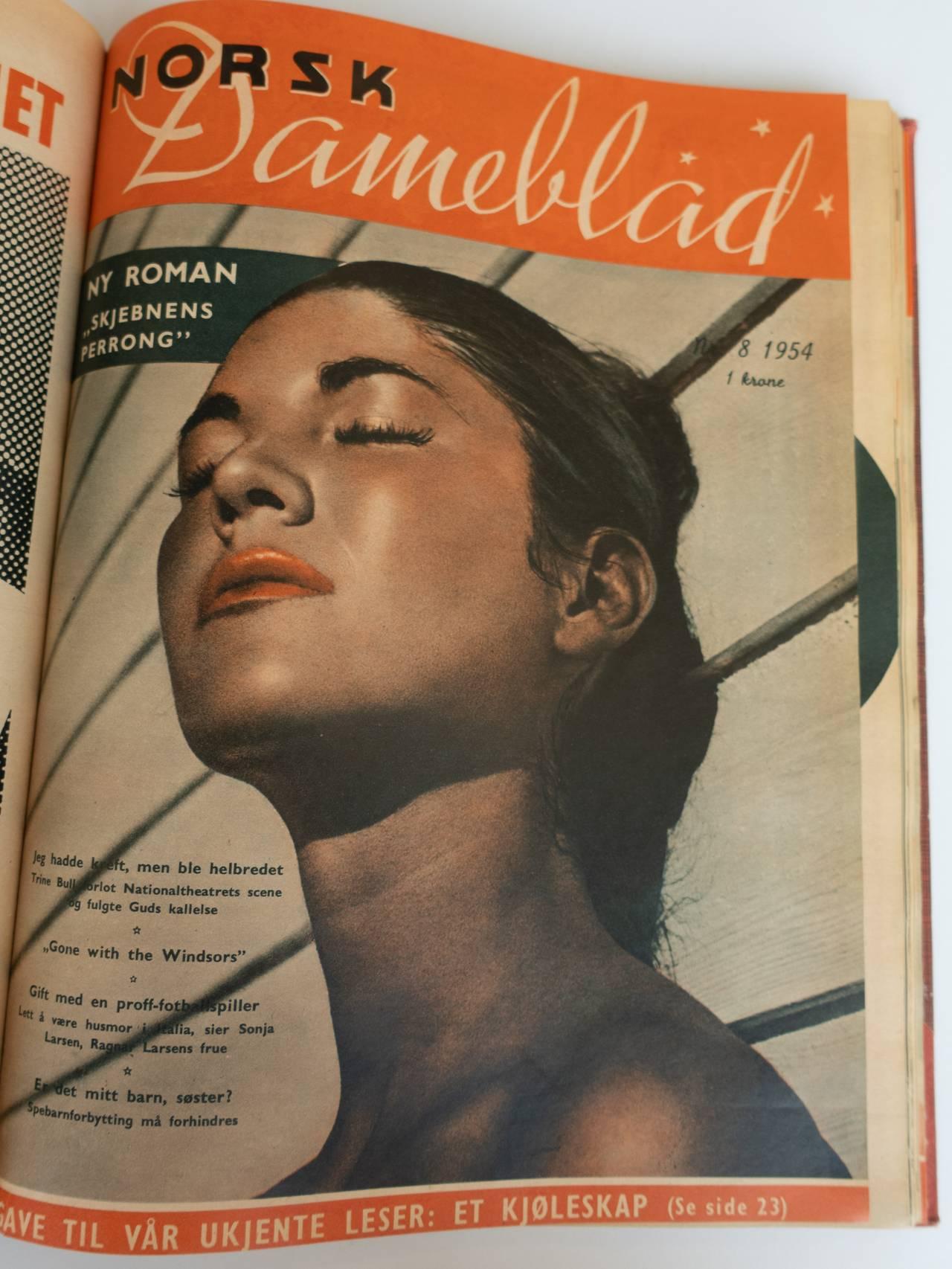 Norsk dameblad 1954