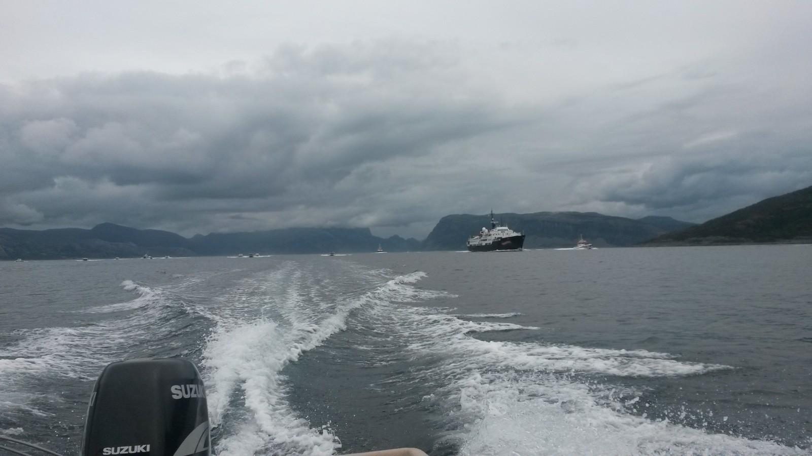 Frå innfarten i Frøysjøen