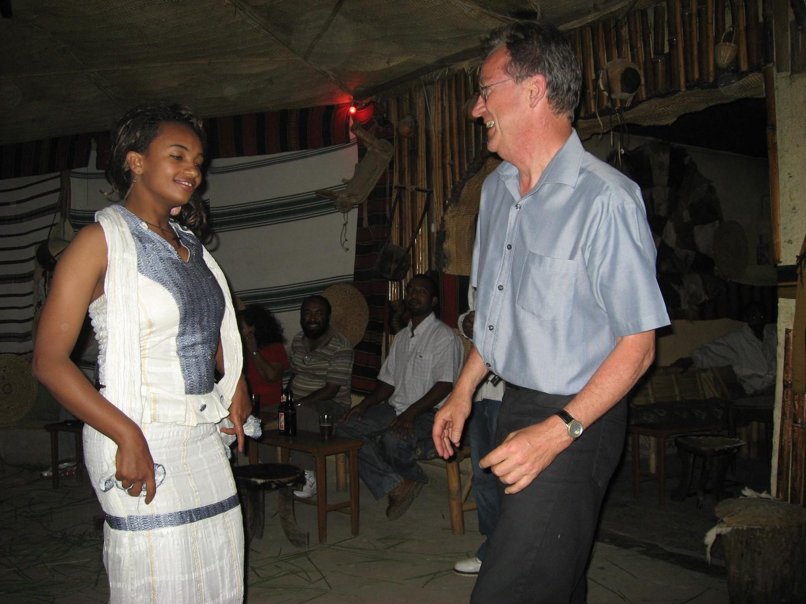 Sigbjørn Nedland utenfor komfortsonen i Addis Abeba.