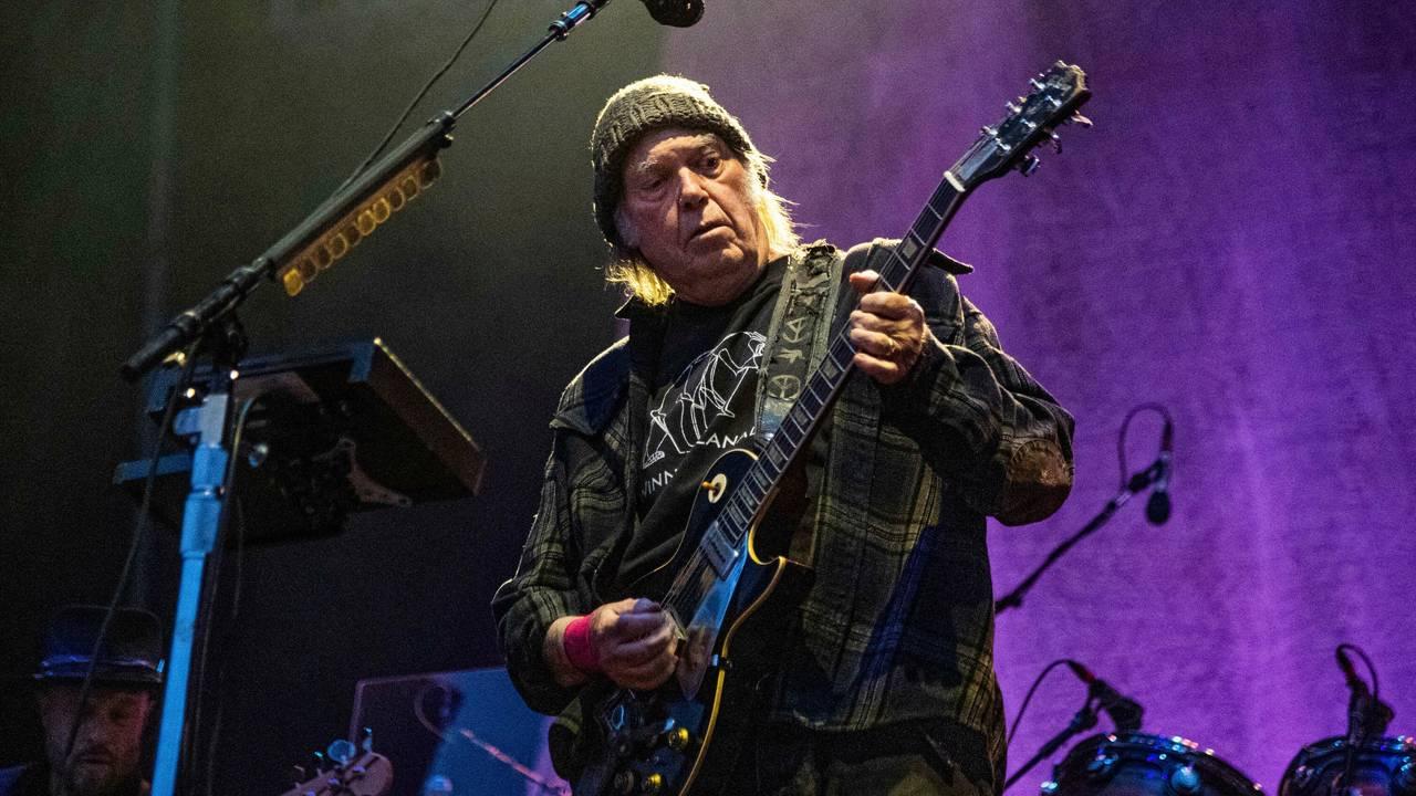 Neil Young på konsert, 25.mai 2019.