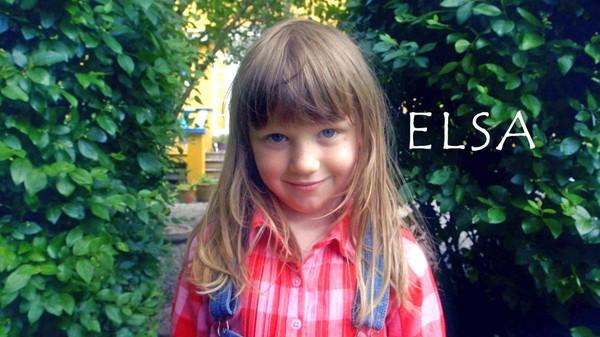 Norsk småbarnsdrama. Elsa er 5 år og bor sammen med pappa og storesøster Agnes.