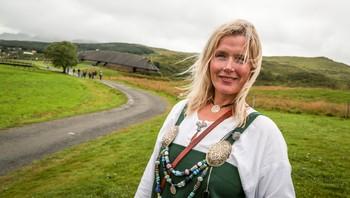 Hege Anita Eilertsen, markedssjef ved Lofotr Vikingmuseum