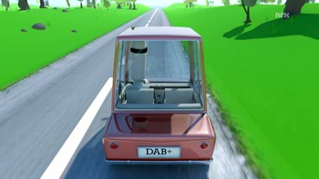 Infofilm om overgang til digitalradio - DAB i bil.