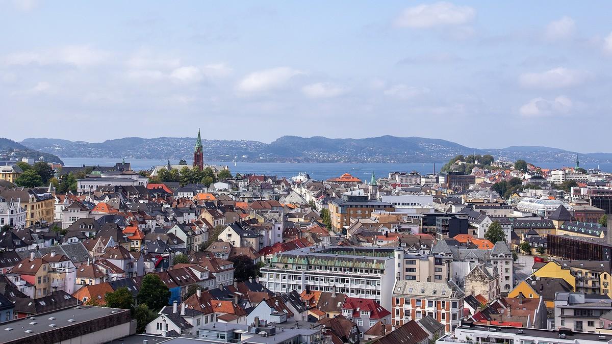 Bergen fra MCB-taket