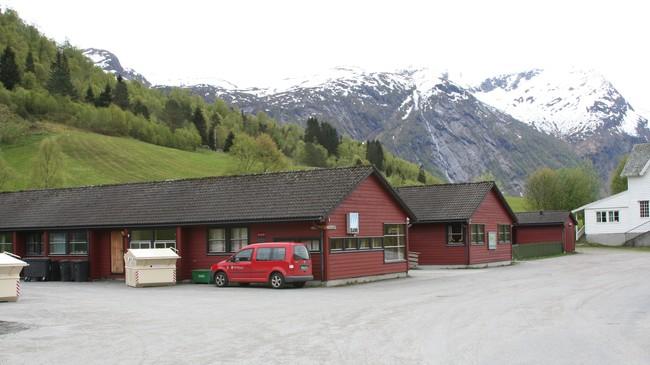 Avdelingskontoret i Viksdalen. Foto: Ottar Starheim, NRK.