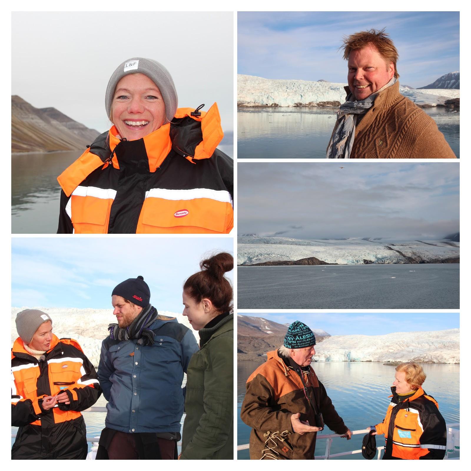 Maja Lunde, Jørn Lier Horst og Co. på Svalbard